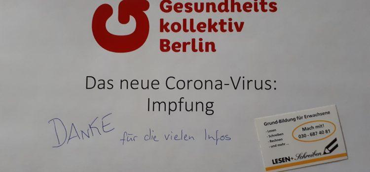 Thementag : Corona-Impfung